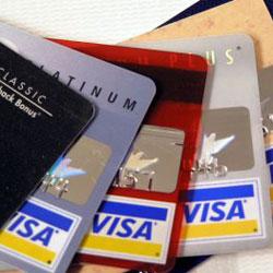 Банковская карта Visa